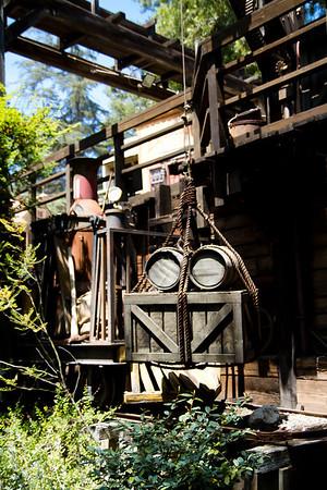 Big Thunder Mountian Railroad Queue Decorations