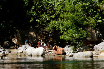 Indian Scene on the Rivers Of America