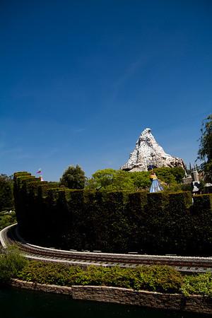 Dumbo's Shrubbery & The Matterhorn Mountian