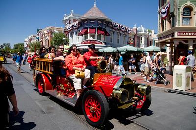 Main Street Fire Engine