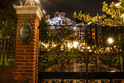 The Haunted Mansion Closed At Night