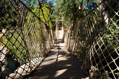 Rope Bridge on Tom Sawyer's Island