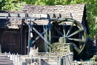 Water Wheel on Tom Sawyer's Island