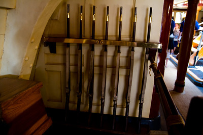 Rifles on the Sailing Ship Columbia
