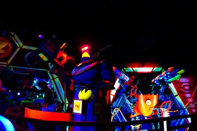 Buzz Lightyer's Astro Blasters Ride