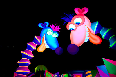 heffalumps and woozles on the Winnie the Pooh ride