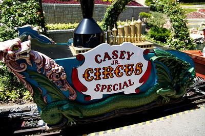 Casey Jr Circus Special Coal Car