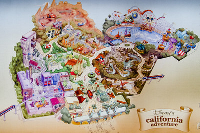 California Adventure Remodel Concept Art
