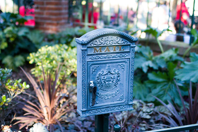 Haunted Mansion Mailbox