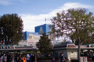 Missing Main Street Station