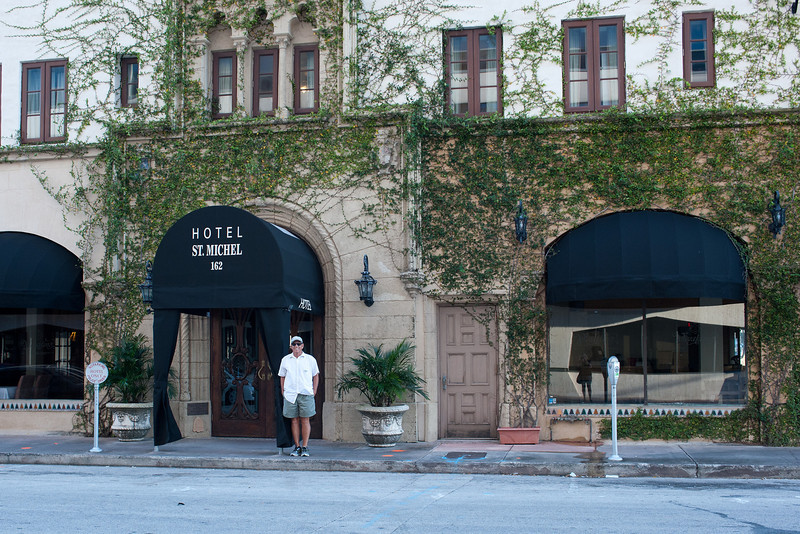 Rich & I started our vacation adventure with a 1-night stay in Coral Gables. Great fun!