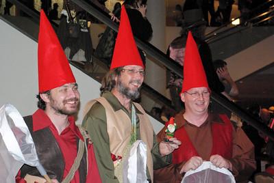 Fairy chasing gnomes
