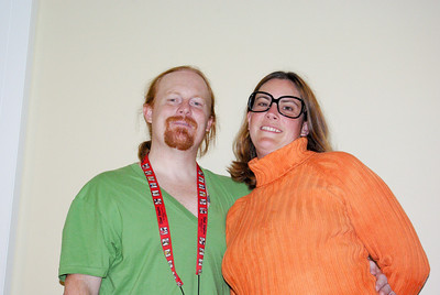 Shaggy and Velma