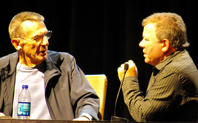 Leonard Nemoy and Bill Shatner