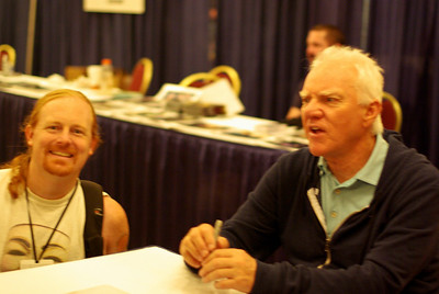 Malcolm McDowell and steve