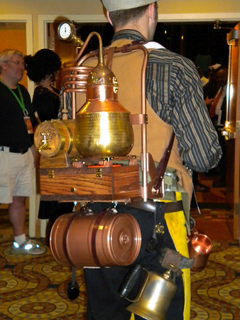 Steam punk camelback