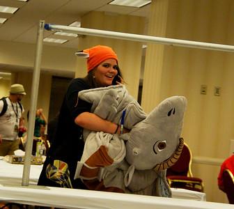 MK and her racing Tauntaun Ziggy