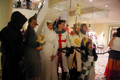 Holy Grail costumes