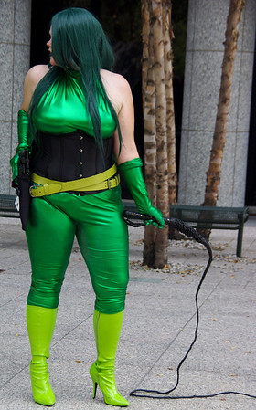 MK as Madam Hydra