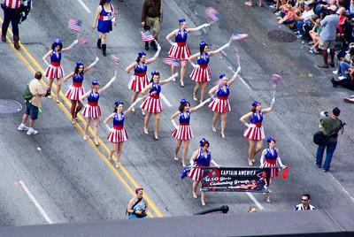 USO girls costuming group