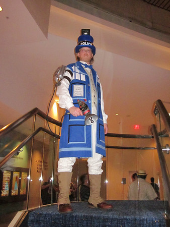 TARDIS coat and lots of TARDIS dresses this year