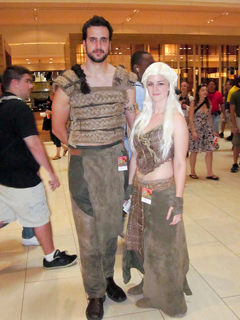 Daneraes and Drogo