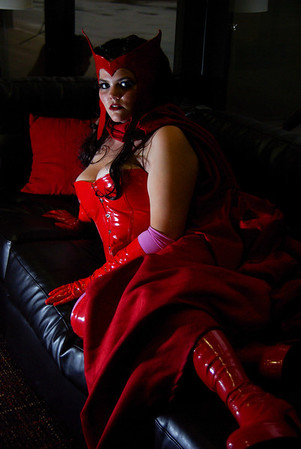 MK as Scarlett Witch