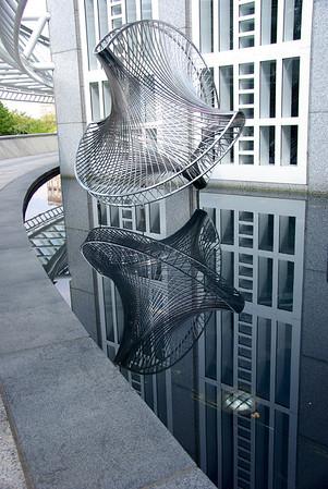 cool art at the sun trust bank