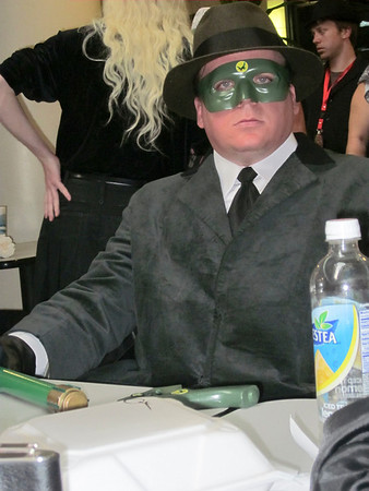 Ingvarr as Green Hornet