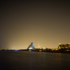 Another shot of the Burj Al Arab. Again, I wish I'd brough my tripod out with me this evening.