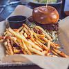 Crispy Chicken Sandwich & Greek Fries : Uva Cafe & Bar : Downtown Disney : Disneyland