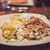 Crab Eggs Benedict : Rockwood Grill : J.W. Marriott