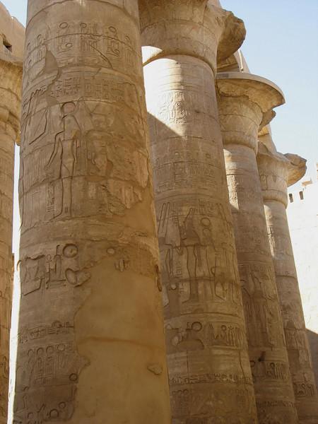 Hypostyle Hall, Karnak Temple - Luxor.