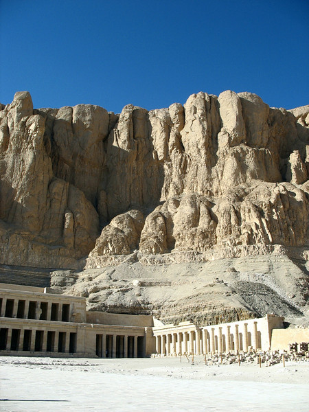Hatshepsut's Hatshepsut's Funerary Temple. The only female pharaoh, Hatshepsut ruled for 20 years in the 15th century B.C., dressing like a man and wearing a fake beard.