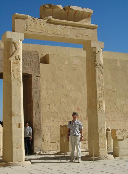Hatshepsut's Funerary Temple has 22 pillars