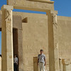 Hatshepsut's Funerary Temple has 22 pillars