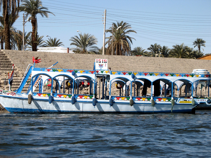 Time to cross to the West bank of the mythical Nile.