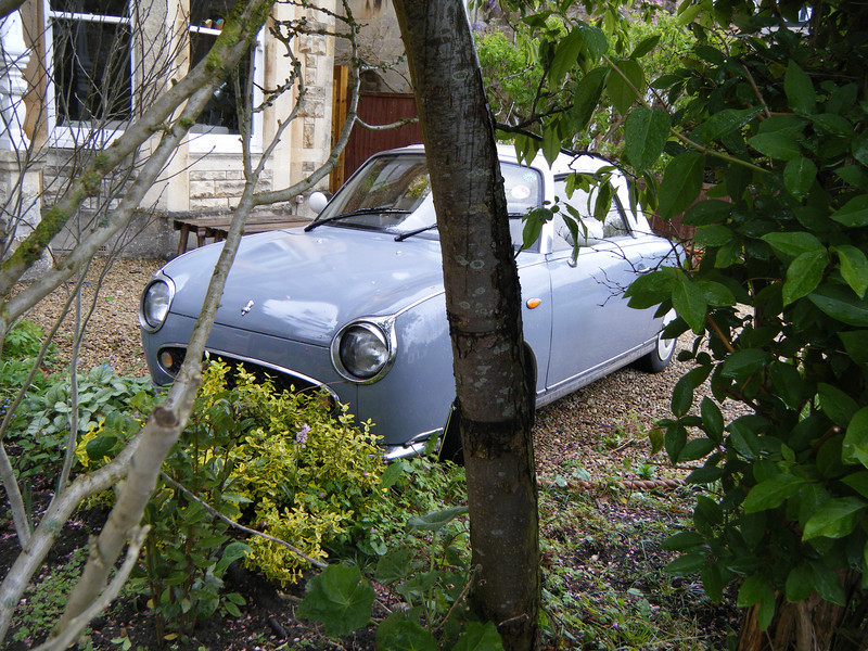 "The car is a ""Figaro"".  Is this owned by Luciano Pavarotti?"