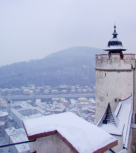view from Hohensalzburg Castle