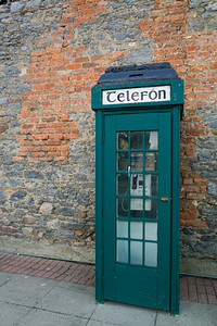 Irish phone booth