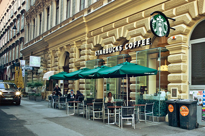 Starbucks everywhere