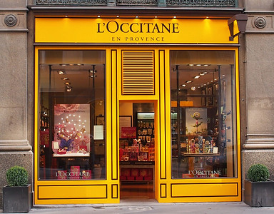 L'Occitane soaps and stuff, what we had on the Viking Legend, good stuff.