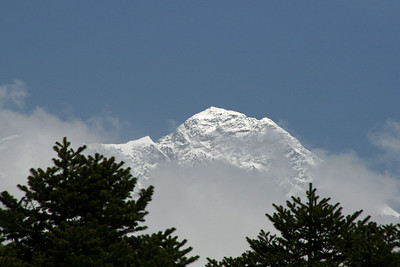 View of Everest from Tengboche