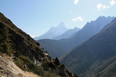 Tengboche Monastery in the shadow of Ama Dablam