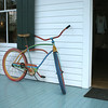 Painted bike.