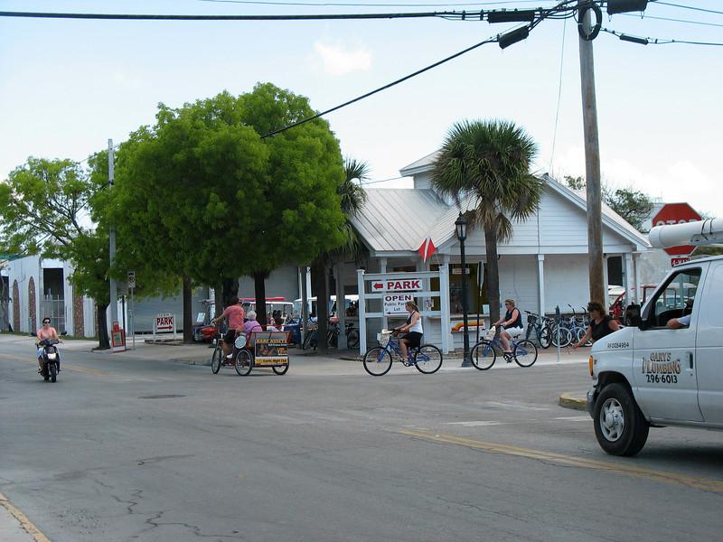Key West transportation.