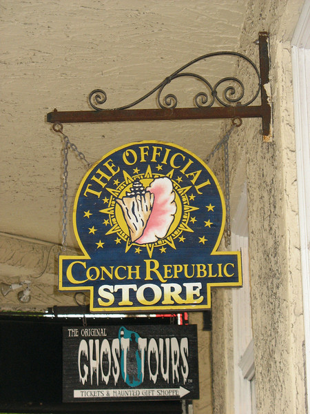 Conch Republic - they take this stuff seriously.