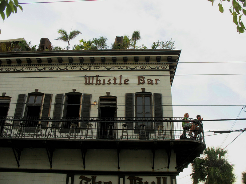 Whistle Bar, Key West.