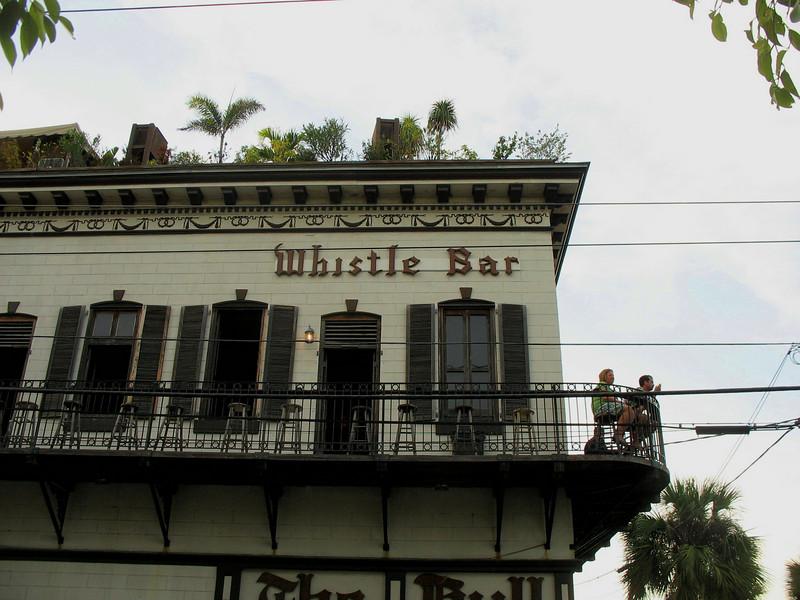 Whistle Bar, Key West.