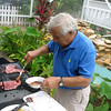 Dad Barbequeing. (2008)